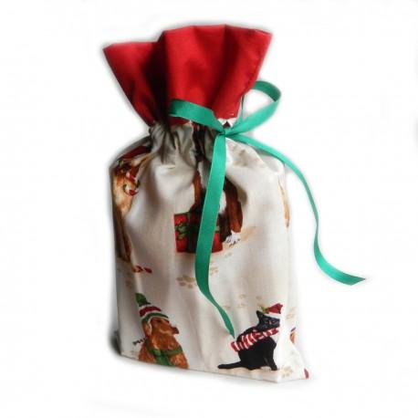 Vánoční pytlíček Sovičky Kostky