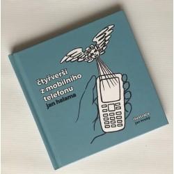 Kniha Čtyřverší z mobilního telefonu