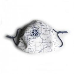 Textilní rouška Design Mapa