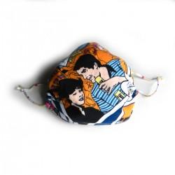 Textilní rouška Design Pop Art