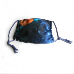 Textilní rouška Design Vesmír