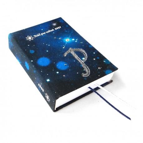 Diář 2021 - Vesmír s monogramem na zakázku