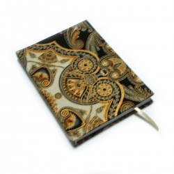 Zápisník pro radost -ORNAMENTY zlaté
