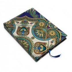 Zápisník pro radost -ORNAMENTY modré