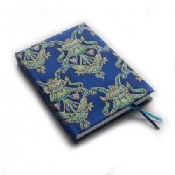 Zápisník pro radost -ORNAMENTY modro-zelené