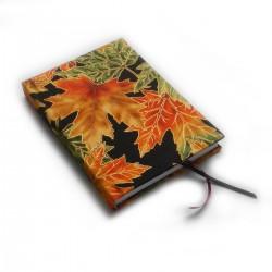 Zápisník pro radost - zlatočerné listí