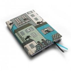 Zápisník pro radost - kočky na střechách