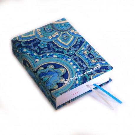 Textilní diář 2019 - Ornamenty modré