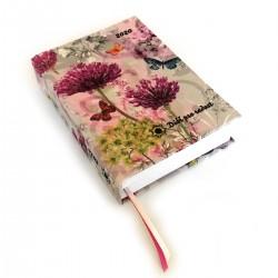 Textilní diář 2020 - Květy a motýli
